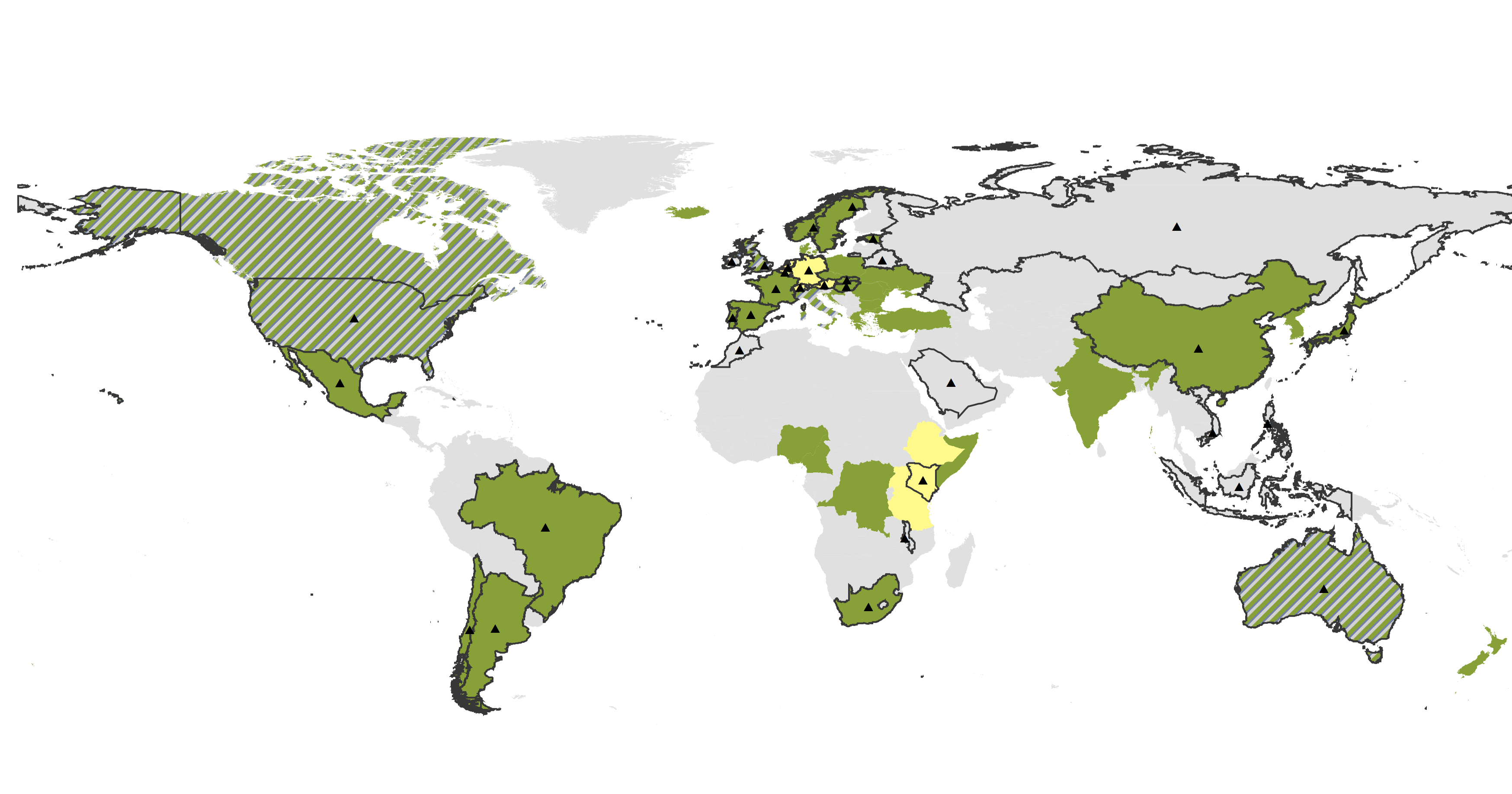 Updated Map of Ecology Societies and Early Career Ecologist Groups